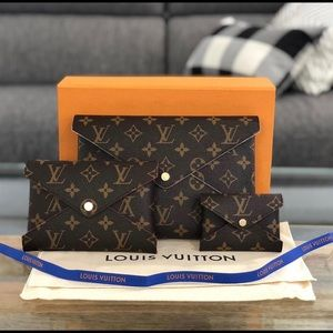 100% AUTHENTIC LOUIS VUITTON POCHETTE KIRIGAMI
